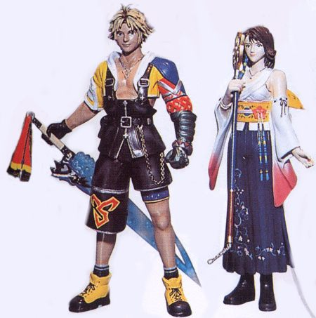 Tidus & Yuna Figures